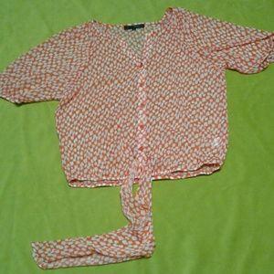 NWOT Heart Soul blouse